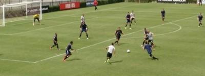 'É mole?''Time do interior Paulista com o time reserva vence equipe Norte Americana da MLS