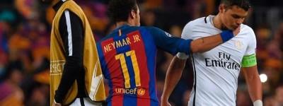 Após catástrofe do PSG em barcelona Zagueiro Brasileiro é chamado de covarde por franceses