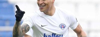 Zagueiro Brazuca  Ex-Bahia vem se destacando no futebol turco pela  ''fase artilheira ''