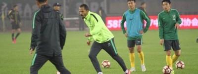 Brasileiro faz gol e salva sua equipe de derrota em rodada da segunda divisão Chinesa