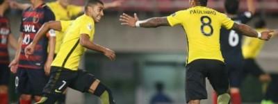 Com gol de Brasileiro equipe chinesa se classifica para as quartas da Champions Asiática !
