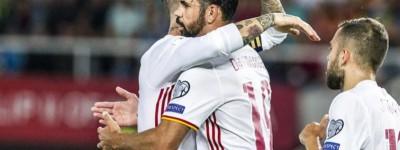 Atacante brasileiro de dupla nacionalidade marca gol e ajuda seleção Espanhola !