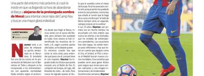 'A fila Andou ?' Imprensa cataluña diz que Neymar se cansou de barcelona e quer novos ares