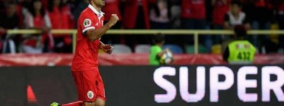 Jonas da Título  ao Benfica em torneio de pré-temporada em cima do Vitória de Guimarães !