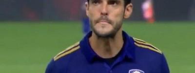 Kaká fala sobre suspensão que levou na MLS e diz '' Foi muito por uma brincadeira minha