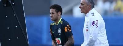 Tite não opina sobre saída de Neymar mas  diz ''quero que seja feliz e nos ajude