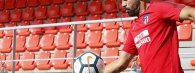 De Volta ao seu lar Diego Costa já Treina e diz está pronto para atuar e ajudar equipe !