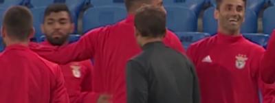 Gabigol Briga em treino do Benfica Mais depois pede desculpas e diz que ta tudo certo !
