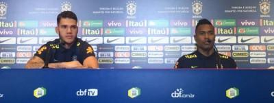 Jogadores da seleção diz que não estão preocupados com a Argentina e o foco é a copa !