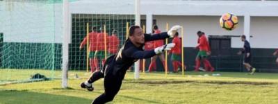 Goleiro Brasileiro Titular do Marítimos quer surpreender Sporting que está como vice-lider