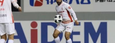 Gabriel Xavier foi o destaque do Nagoya Grampus faz 2 gols e alcança artilharia do japonês