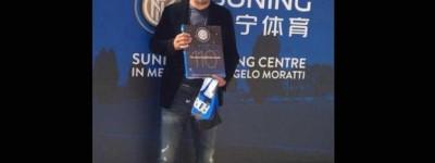 'Homenagem em Vida 'Imperador recebe homenagem de inter de Milão e se sente 'vivo' !
