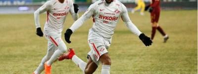 Com gol de Brasileiro Spartak vence a avança as semi-finais da Copa da Russia !