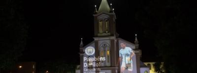 Campeão com o City Brasileiro Danilo recebe justa Homenagem em sua cidade !