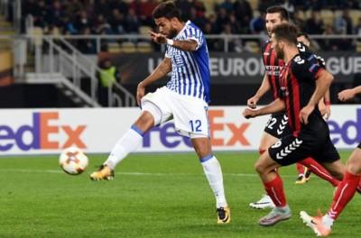 Jogador em alta na Europa e Preterido por Tite fez 4 Gols em partida da Liga Europa !
