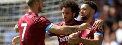 Contratação mais cara da história do West Ham,brasileiro em estréia marca seu primeiro gol
