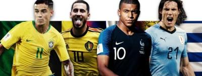 Sem Messi e CR7 Candidatos que não faltam à posto de jogador decisivo no Mundial da Rússia