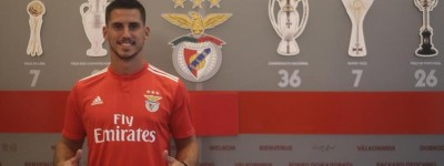 Meia Brasileiro Gabriel, de 24 anos, é o mais novo reforço do Benfica e diz viver um sonho