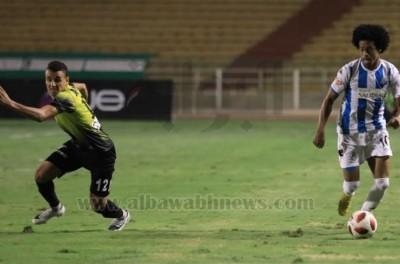 Atacante brasileiro Keno voltou a brilhar ao marcar o único gol  em triunfo do Pyramids !