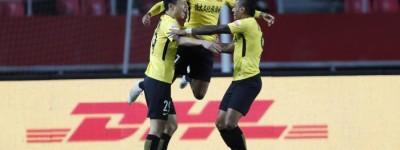 Brasileiro Alan comanda o Guangzhou em vitória contra o Hebei que segue em busca do título