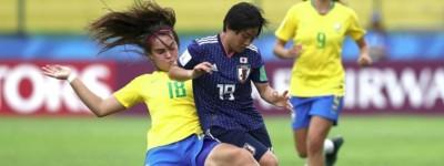 Seleção Brasileira feminina sub-17 estréia no mundial da categoria em empate com o Japão !