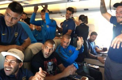 Boca Juniors desembarca em Madrid para final inédita com muito otimismo,alegria e Tango !