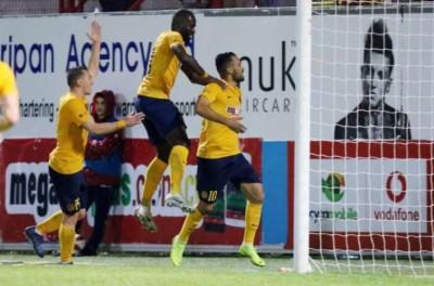 Brasileiro Alex da Silva fez um dos gols do triunfo por 3 a 1 sobre o Alki Oroklini !