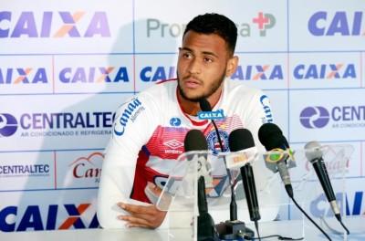 Na noite desta quarta-feira Bahia anunciou a venda do atacante Brumado para a Dinamarca !
