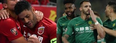 Brasileiros são destaques na china e times de Renato Augusto e Elkeson vencem !