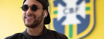 Neymar se apresenta à seleção feliz e diz que título é obrigação !