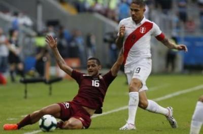 Pelo o grupo do Brasil,Venezuela e Peru só ficam no empate nesse sábado na Arena do Grêmio