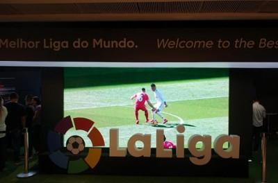 Representantes da liga espanhola de futebol diz que torcedores brasileiros são os melhores