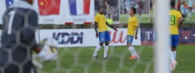 Volante brasileiro, ex-Fluminense marcou um gol na goleada por 4 a 0 na seleção Olímpica !