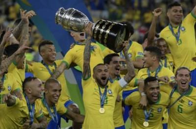 Após título de 2019,Brasil fica apenas atrás de Uruguai em títulos de Copa América !