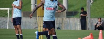 Após destaque pelo futebol tailandês,atacante brasileiro foi contratado por time japonês