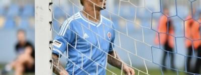 Atacante brasileiro Rafael Ratão marcou um dos gols da vitória do Slovan !
