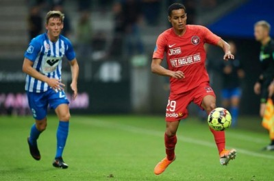 Brasileiro Paulinho chegou nesta temporada ao Midtjylland e já é destaque da equipe