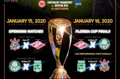 Renomado torneio de pré-temporada define tabela de 2020 com clubes brasileiros em destaque