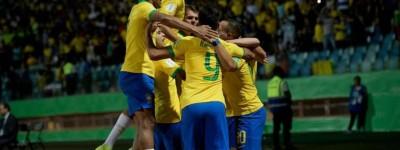 Com futuros craques ,Brasil busca vaga na final do Mundial sub-17 contra a França