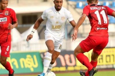 Jogador brasileiro é um dos principais destaques do Khon Kaen United na Tailândia