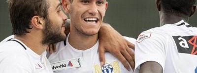 Zagueiro revelado pelo Palmeiras marcou o segundo gol na vitória do Zurich sobre o Sion !