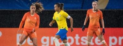Seleção Brasileira consegue segurar empate com Holanda,em torneiro na França !