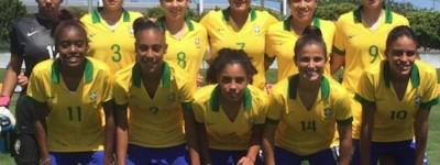 Seleção feminina sub-20 vence o Chile por 2 a 0 e mantém 100% de aproveitamento em torneio