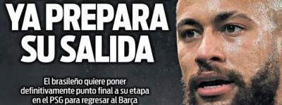 ''A novela voltou'' Barcelona diz que o foco nessa parada forçada é ter Neymar de Volta !