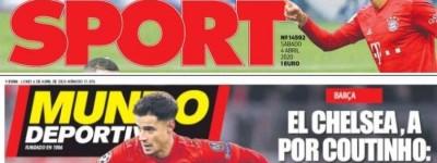 ''Será ''Jornais da Espanha crava brasileiro Coutinho no Barcelona após passar pandemia!