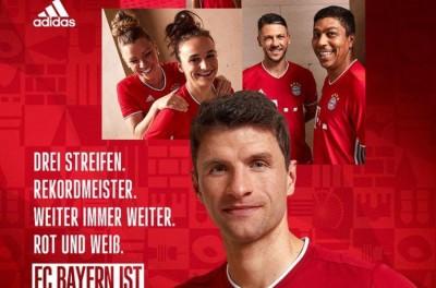 Bayer de Munique lança novo manto,com brasileiro de modelo e merecido destaque !