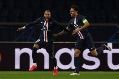 Sem jogar desde 11 de março,brasileiro Neymar comemora retorno da Champions !