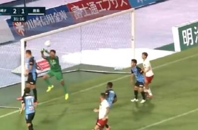 ''Mandou mal''Atacante Brasileiro faz gol contra e marca retomada da J-league !
