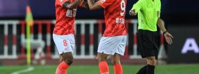 Com gols de Elkeson e Paulinho, Guangzhou vence e lidera seu grupo no Campeonato Chinês