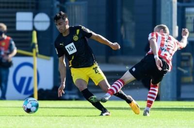 Meia Brasileiro ex-Flamengo estreia como titular do Borussia Dortmund em amistoso !